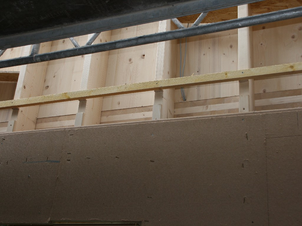 Bauphase Innen , Woche 2