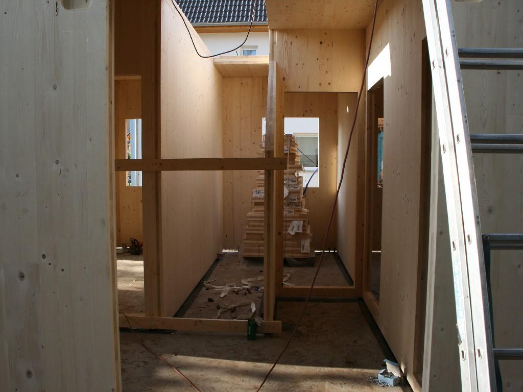 Bauphase Innen , Woche 1