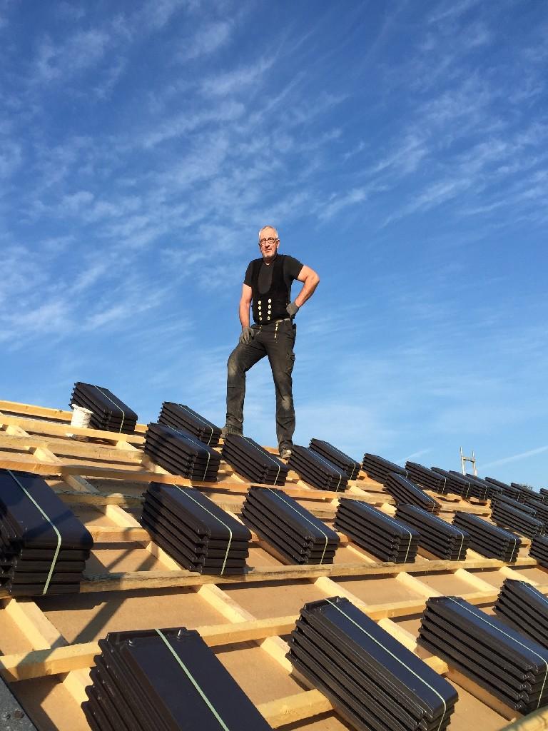 Bauphase Dach , Woche 2