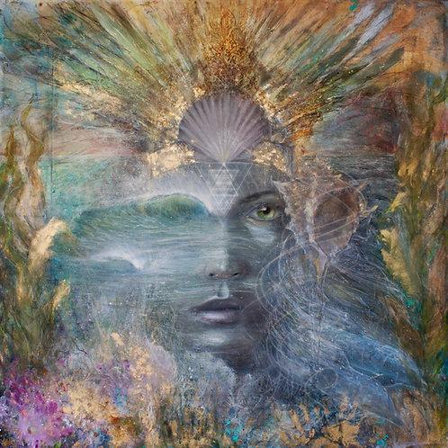 """Sea Priestess"" Tapestry"