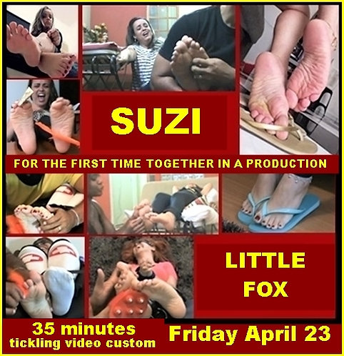 foot tickling video custom April 2021