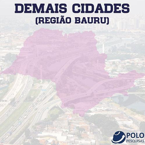 DEMAIS CIDADES (REGIÃO BAURU)