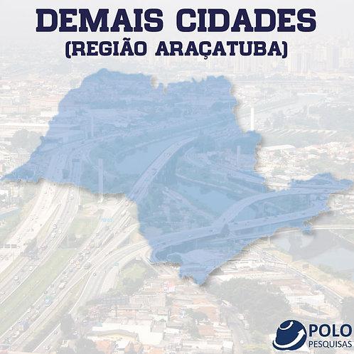 DEMAIS CIDADES (REGIÃO ARAÇATUBA)