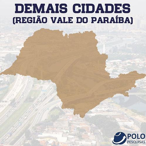 DEMAIS CIDADES (REGIÃO VALE DO PARAÍBA)