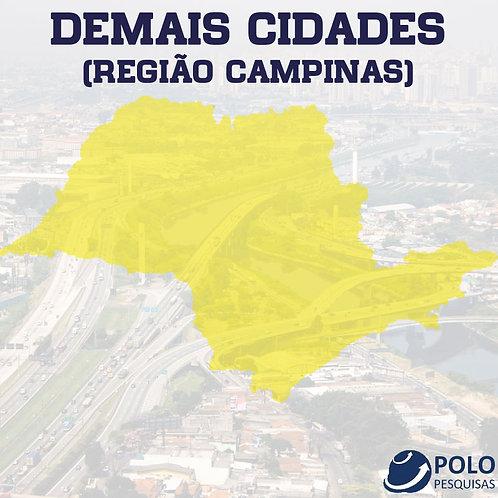 DEMAIS CIDADES (REGIÃO CAMPINAS)