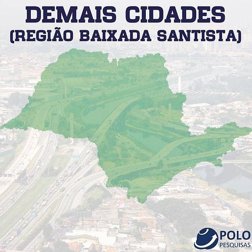DEMAIS CIDADES (REGIÃO BAIXADA SANTISTA)