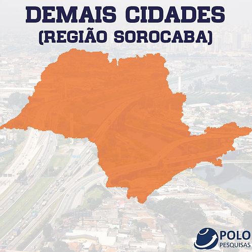 DEMAIS CIDADES (REGIÃO SOROCABA)