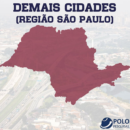 DEMAIS CIDADES (REGIÃO SÃO PAULO)