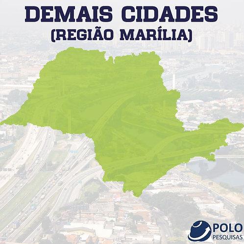 DEMAIS CIDADES (REGIÃO MARÍLIA)