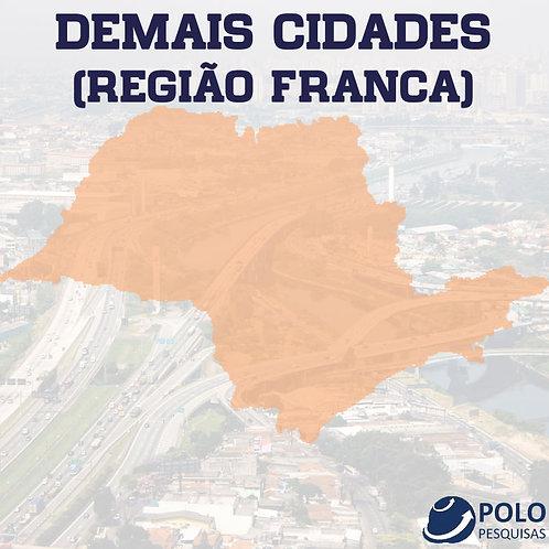 DEMAIS CIDADES (REGIÃO FRANCA)