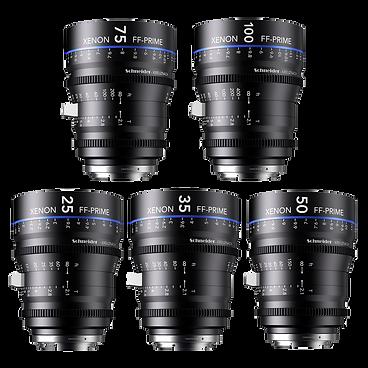 Schneider Xenon-FF Prime Lenses