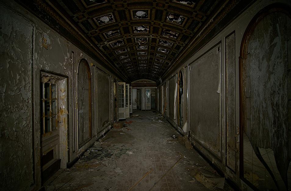 Forbidding Corridor