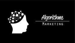 Carte_affaire_Algorithme_Marketing_Fond_