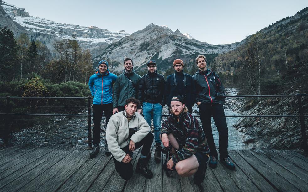 Gruppe – Pyrenäen