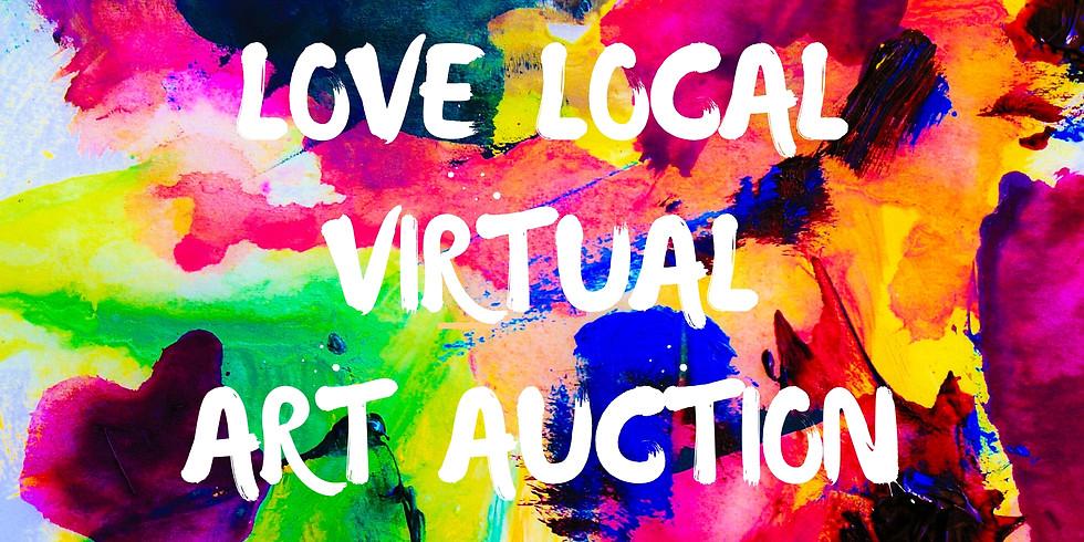 Love Local Virtual Art Auction