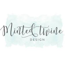 Minted Twine Design