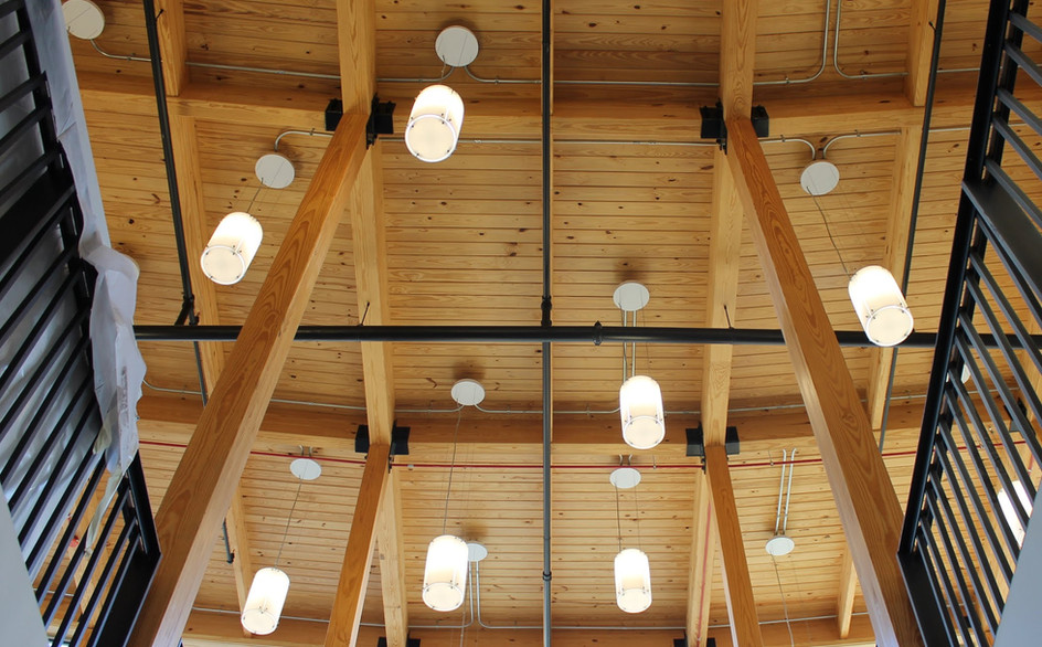 RADIATING ROOF RAFTER SYSTEM