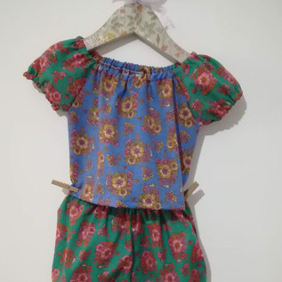 blouse and bloomers