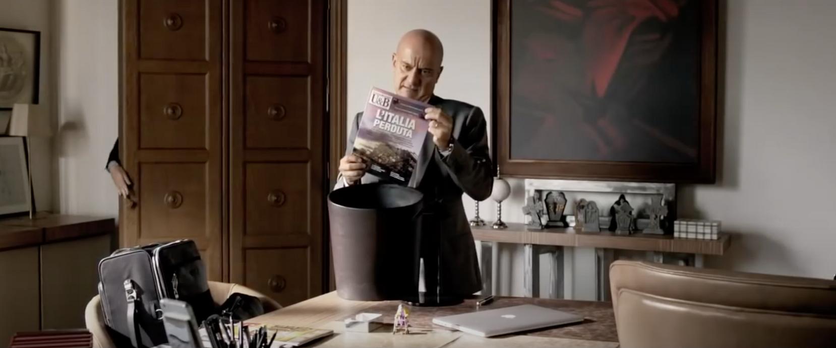 La gente che sta bene 2013  directed by Francesco Patierno production designed by Tonino Zera
