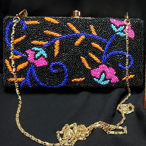 Handmade Beaded Clutch Bag