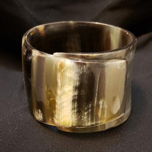 Tibetan Horn Cuff Bracelet