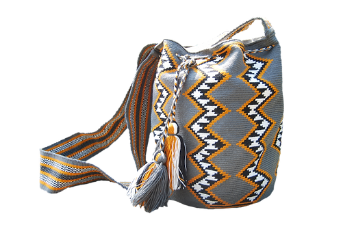 Gray Mochila Bag