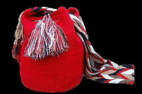 Red Mochila Bag