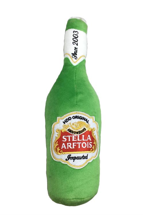Stella Arftois Beer Bottle Plush Toy