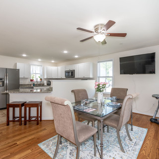 Staging Kitchen and Dining