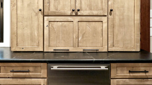 Fridge Drawers and Lower Cabinetry