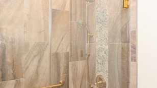 Grab Bars and Accessible Shower Entry