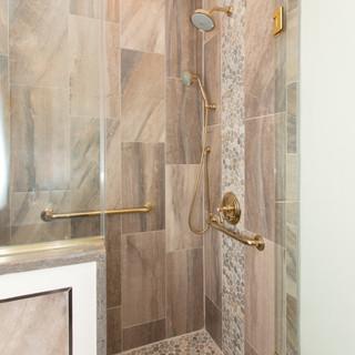 French gold bath
