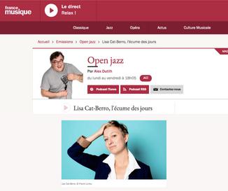 Open Jazz d'Alex Dutilh - 12 mai 2021