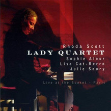 Rhoda Scott Lady Quartet, Live at The Sunset Album paru en 2007 sur le label Must Records