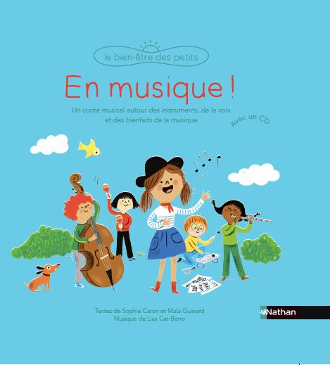 En Musique! Livre-audio paru en 2019 aux Editions Nathan