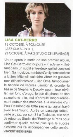 Jazznews concerts, Vincent Bessières