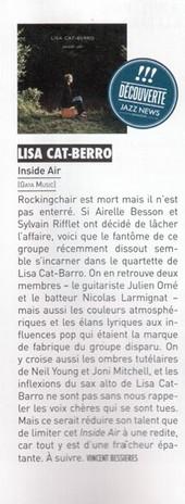 Découverte Jazz News, Vincent Bessières, Décembre 2012