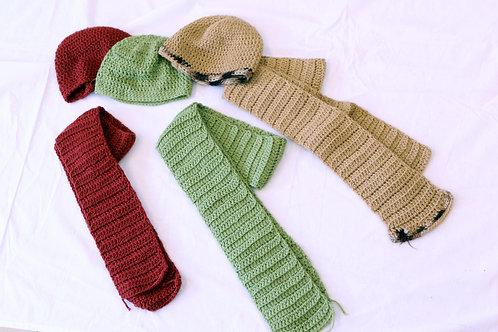 Adult Hat & Scarf Set
