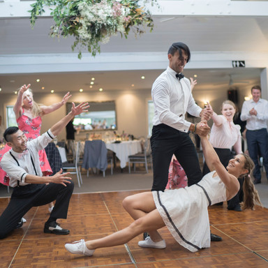 Wedding Dance Lessons with All About Swing