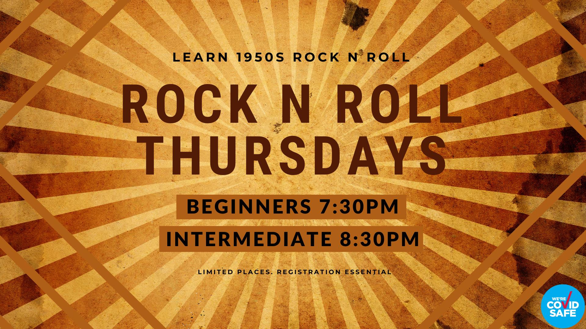 Thursday Rock n Roll - Both Classes
