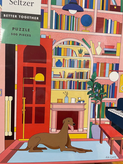 Library Greyhound Puzzle - 500