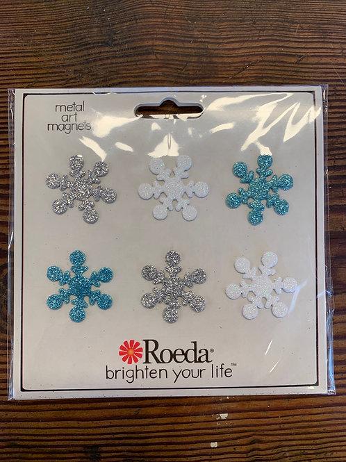 Snowflake  Magnets