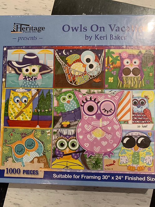 Owls Puzzle 1000