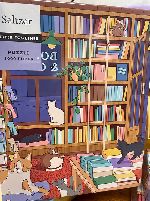 Bookstore Cats - 1000 pieces