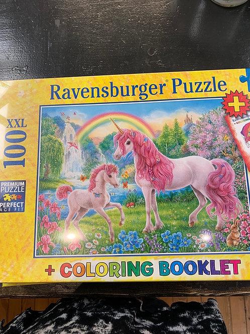 100 pc Unicorn Puzzle