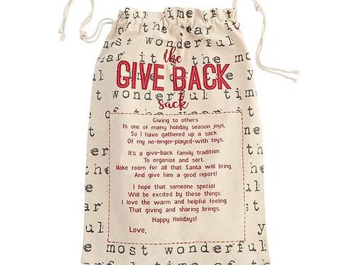 Christmas Give Back Sack