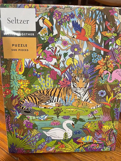 Tiger Puzzle - 500 pieces