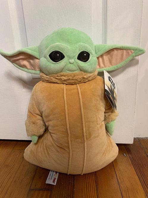 Baby Yoda pillow pet