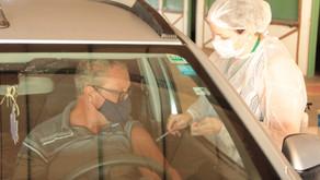 Mais de 1.100 luverdenses acima de 55 anos são vacinados contra a Covid-19