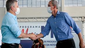 Prefeito de Lucas do Rio Verde destacaagilidade do Governo para construçãoda 1ª ferrovia estadual